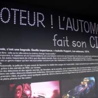 Expo au Mondial de l'Automobile de Paris, les voitures de cinéma